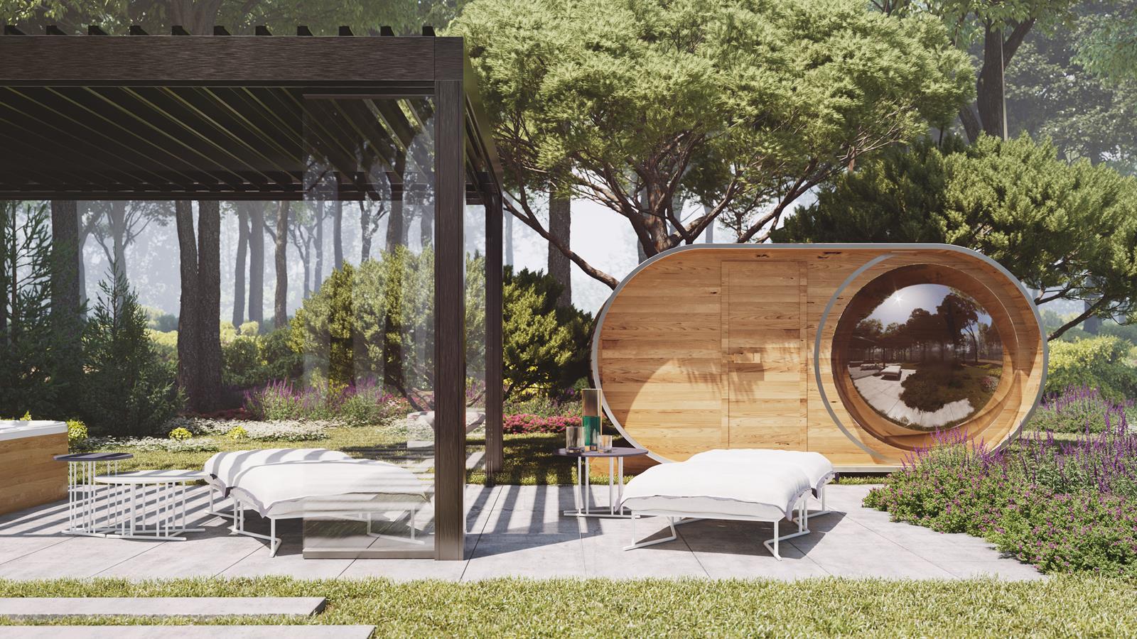 Ogród minimalny